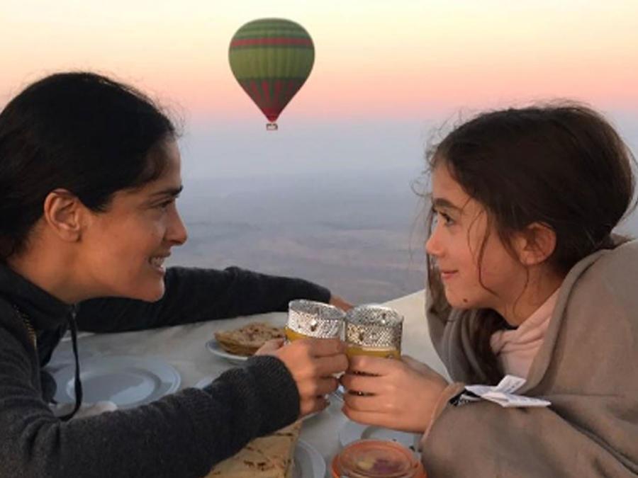 Salma Hayek con su hija Valentina Paloma