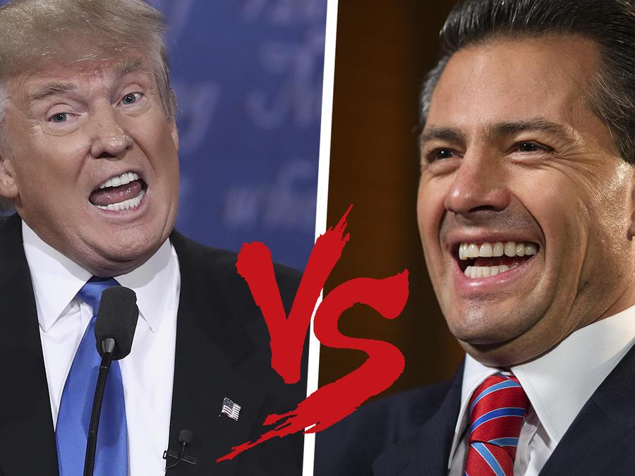 Memes Peña vs Trump