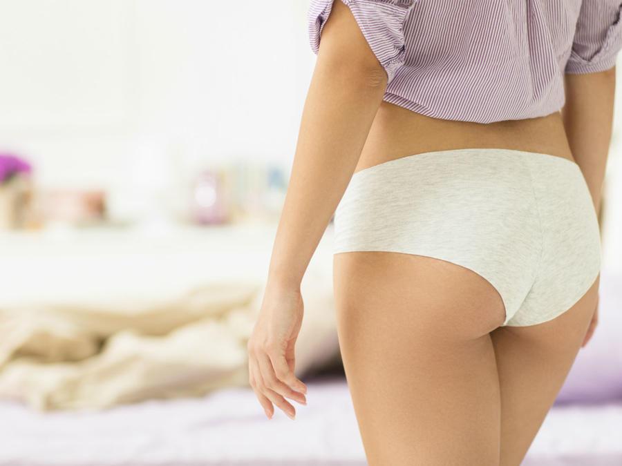 Mujer mostrando su trasero