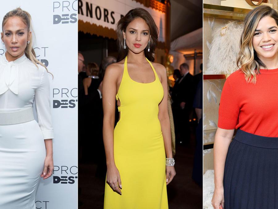 Jennifer Lopez, Eiza González y America Ferrera
