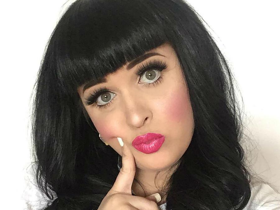 La doble de Katy Perry