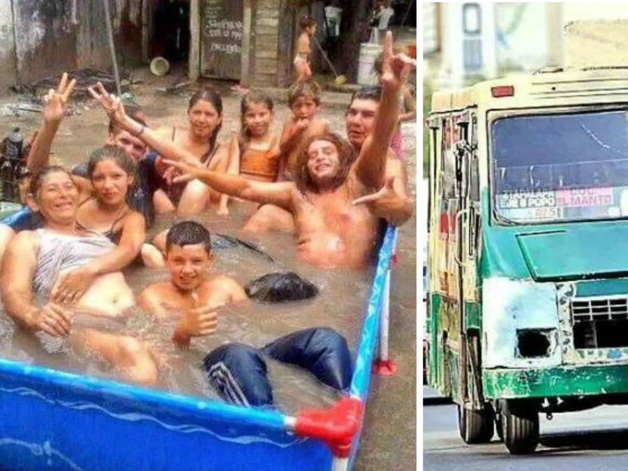 Collage fotos de barrio
