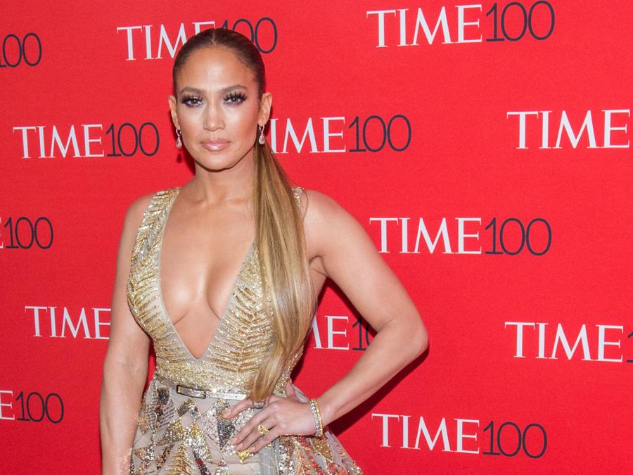 Jennifer Lopez en la gala Time 100