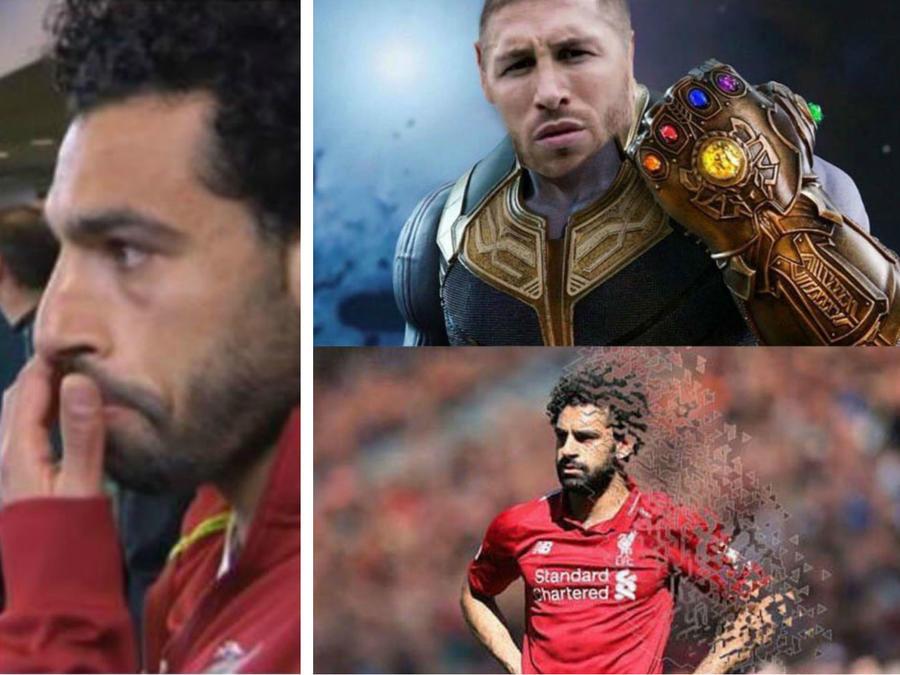 Collage memes de la final de la Champions