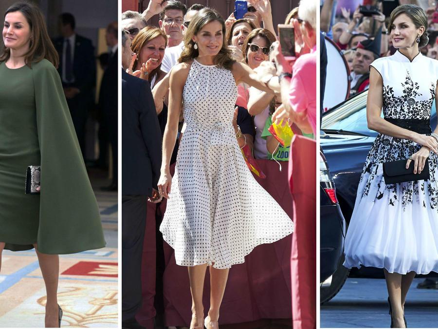 Collage de la reina Letizia