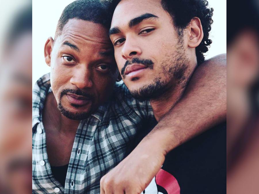 Will Smith con su hijo Trey Smith