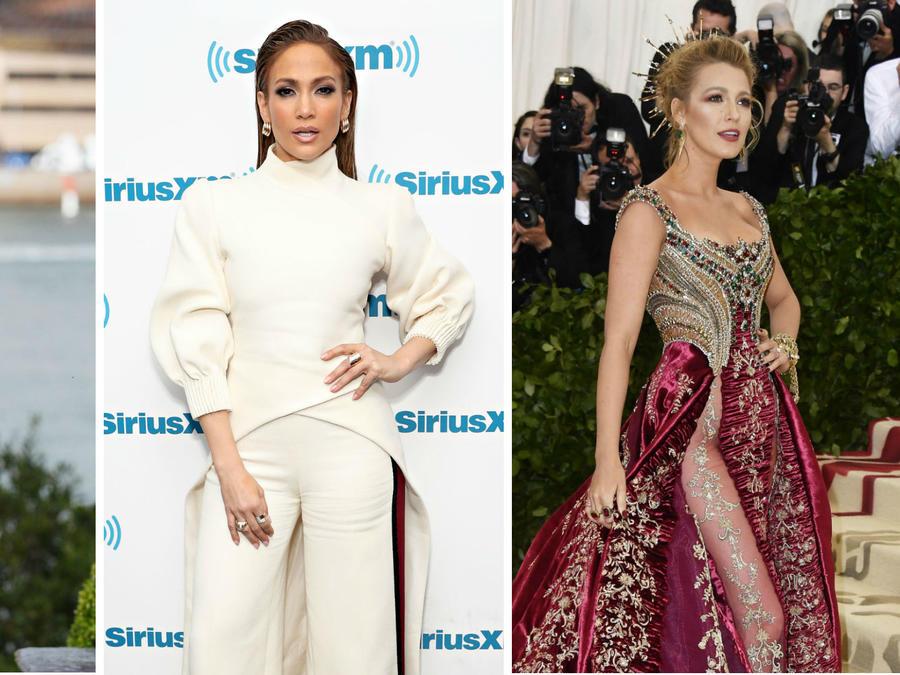 Meghan Markle, Jennifer Lopez y Blake Lively