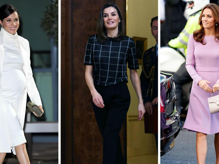 Meghan Markle, reina Letizia y Kate Middleton