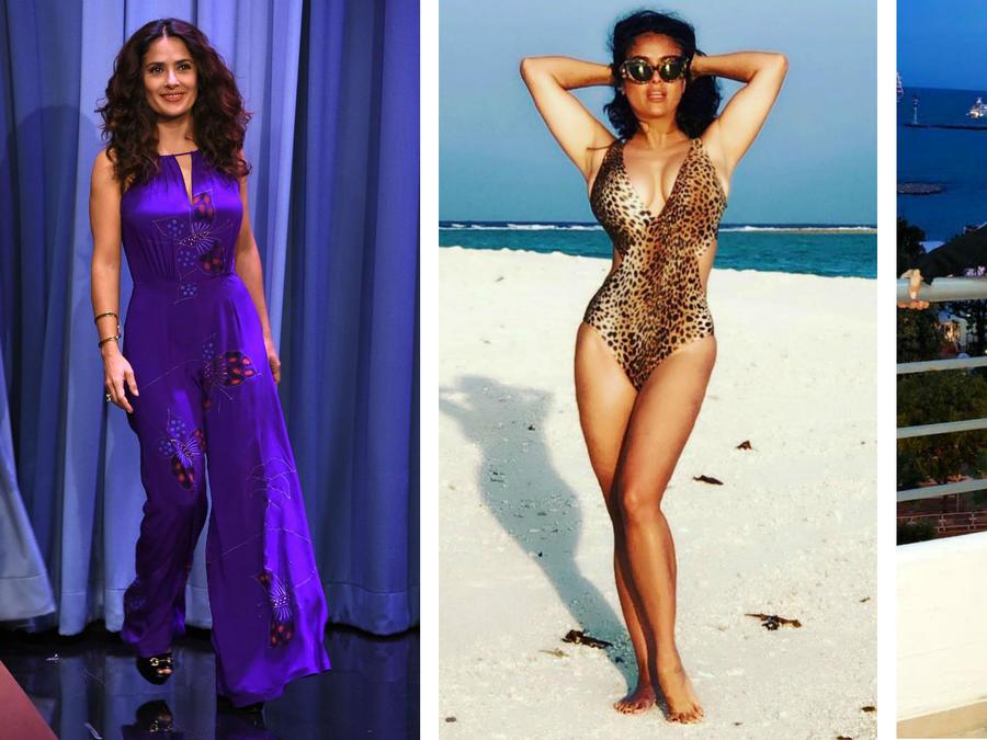 Salma Hayek looks de verano
