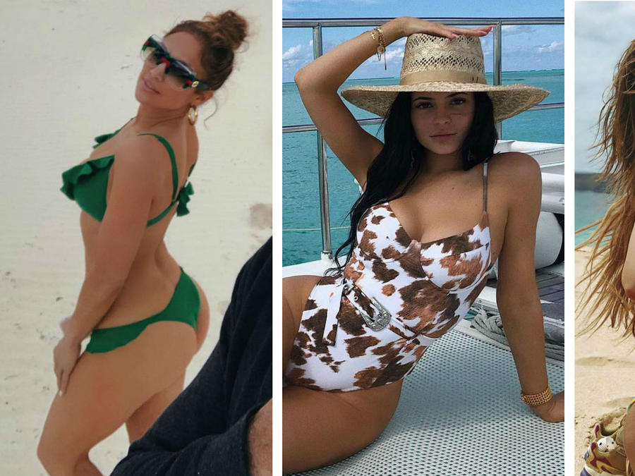 Kylie Jenner, Jennifer Lopez y Danna Paola