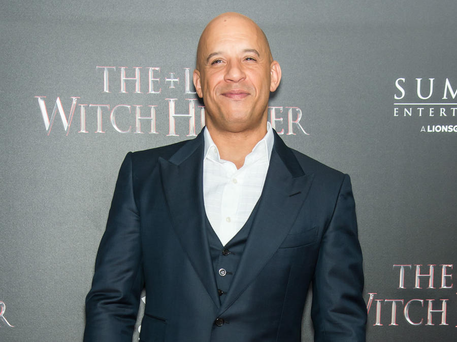 Vin Diesel en premiere de The Last Witch Hunter