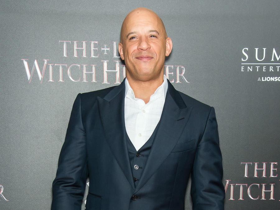 Vin Diesel en premiere de The Last Witch Hunter