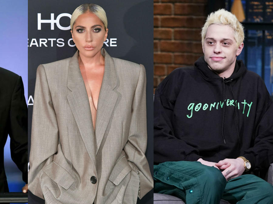 Morgan Freeman, Lady Gaga y Pete Davidson