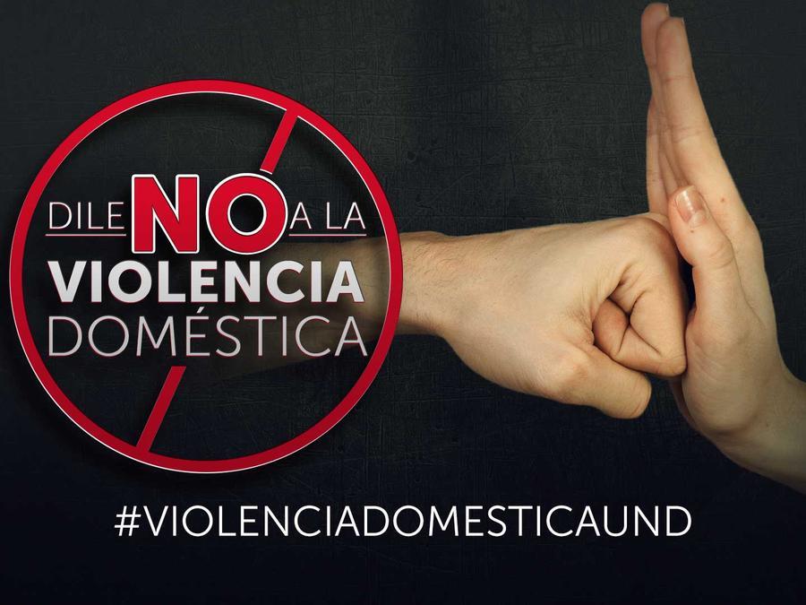 Dile no a la violencia doméstica