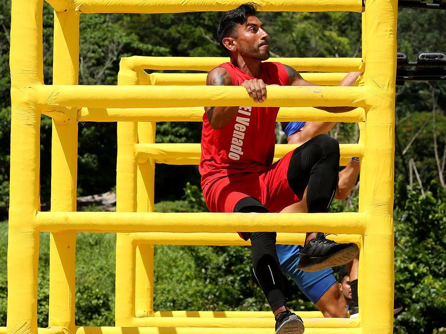 Venado Medina escala en circuito amarillo