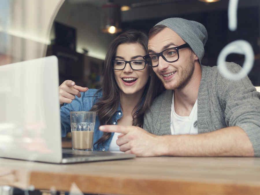 Amor en las redes sociales