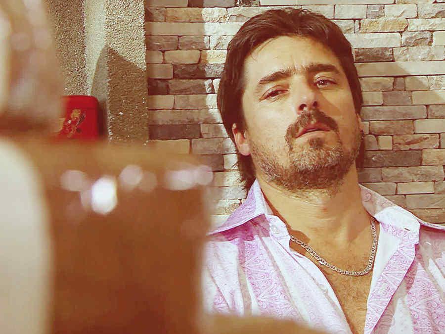 Jorge Zabaleta, Conrado San Miguel, llorando, Dueños del Paraíso