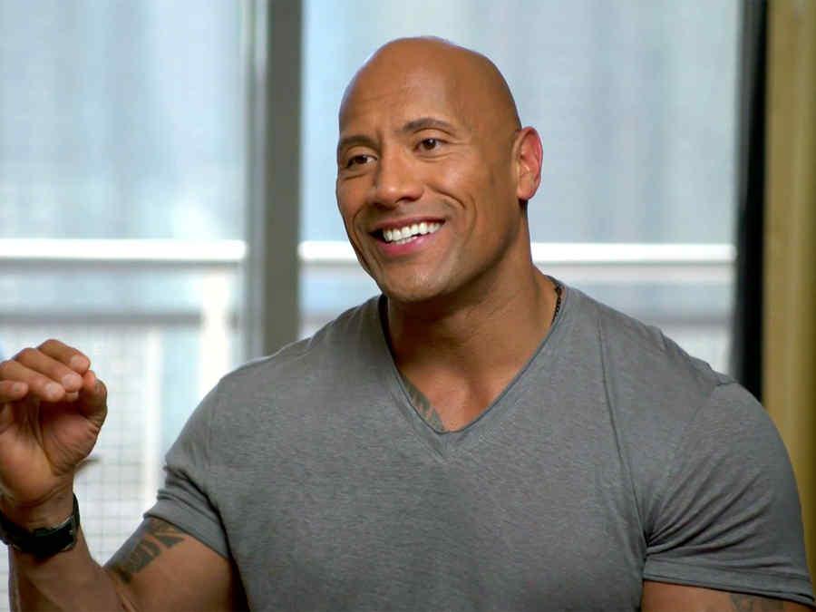 """Entrevista exclusiva con Dwayne Johnson de """"San Andreas""""."""