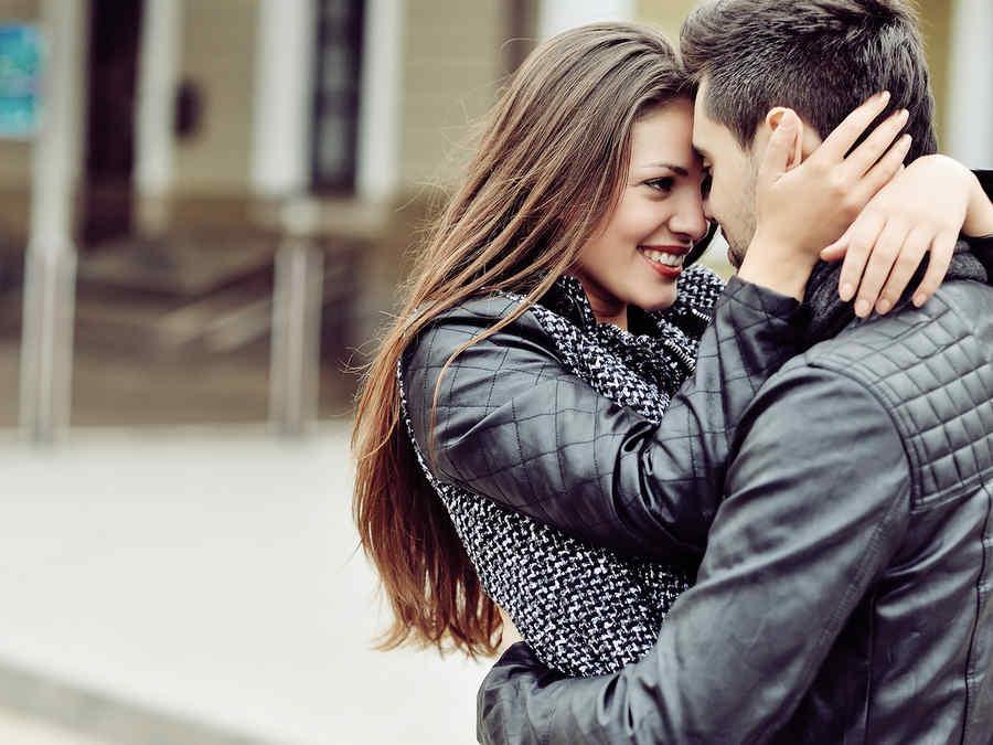 pareja enamorada