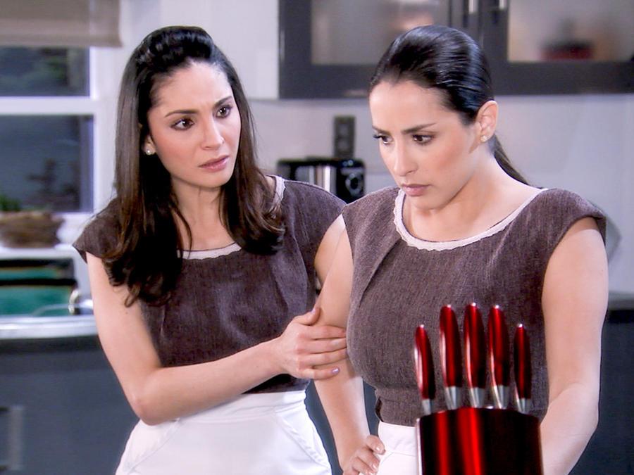 Giovanna del Portillo y Virginia Núñez preocupadas en Tierra de Reyes