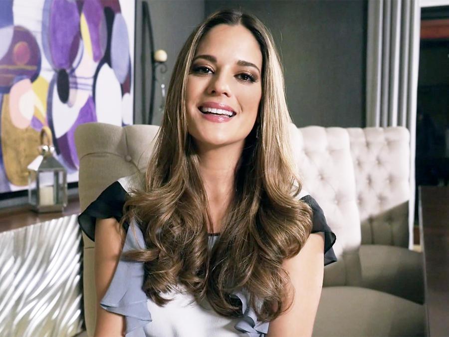 Sabrina Seara, Esperanza Salvatierra, entrevista, sonriendo, El Señor de los Cielos Tercera Temporada
