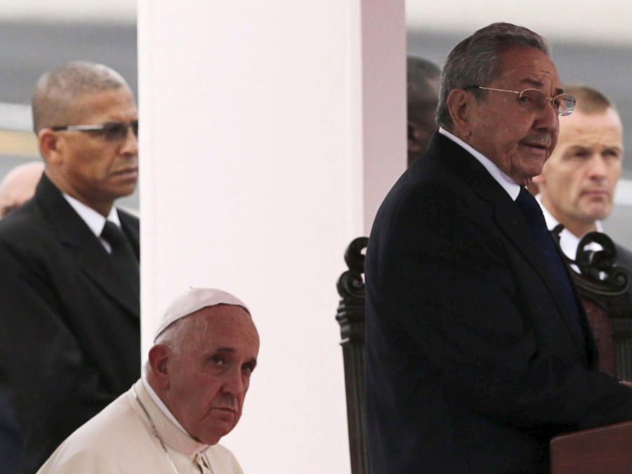 discurso de raul castro ante llegada de papa francisco