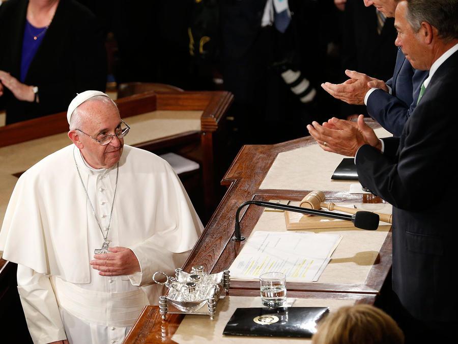 papa congreso de estados unidos