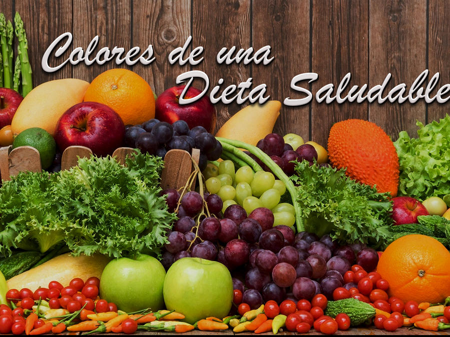 colores de una dieta saludable