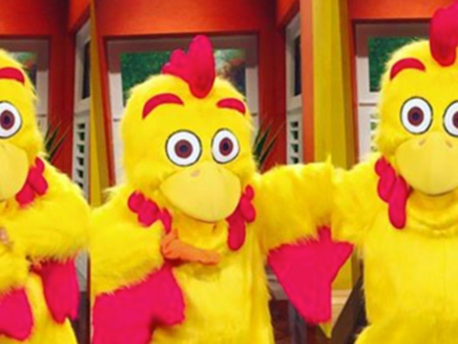 el pollo con su nuevo rostro