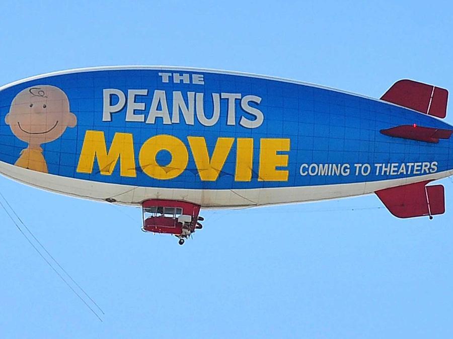 se estrena la pelicula animada, peanuts