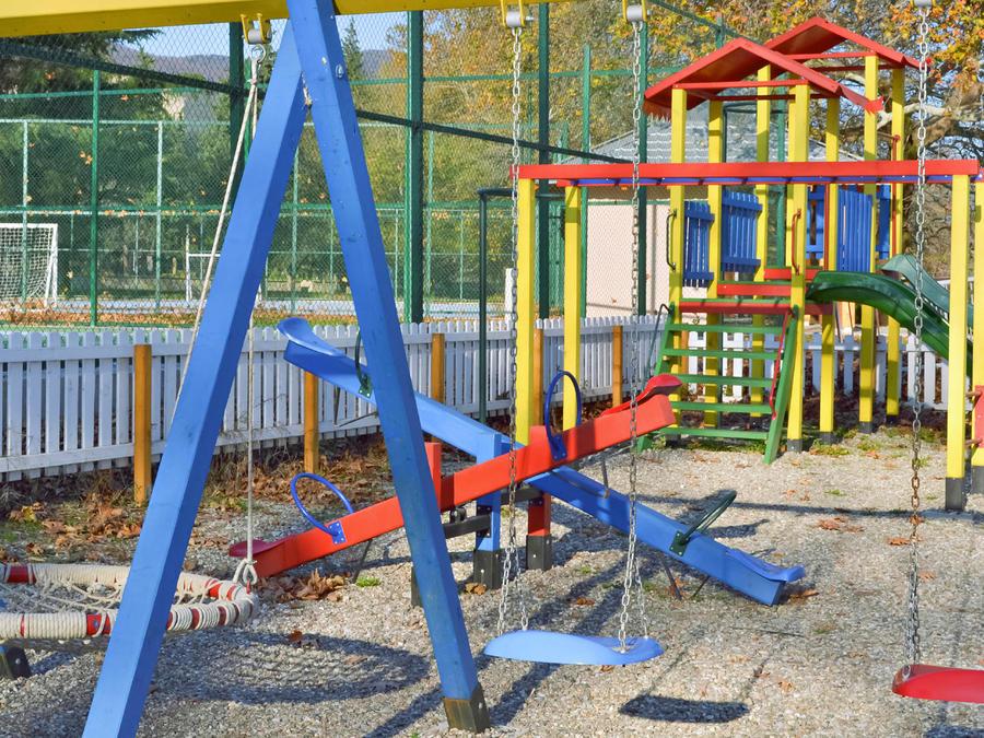 encuentran bacterias parques infantiles