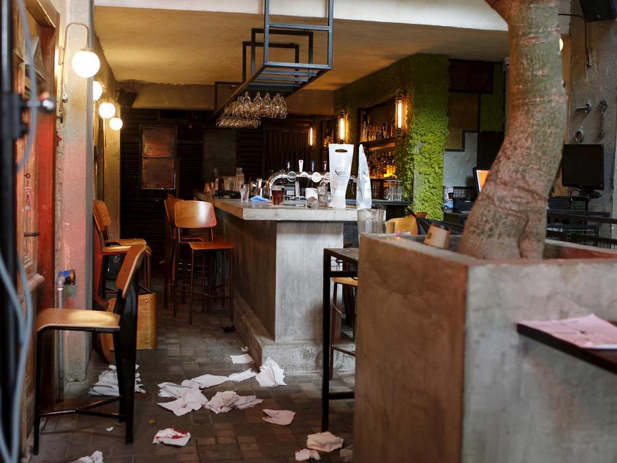 tiroteo en un bar en tel aviv