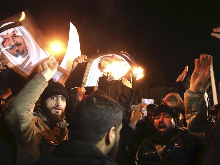 tension entre arabia saudita e iran