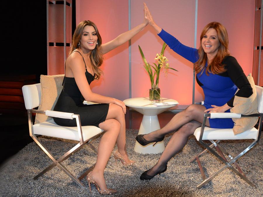 Ariadna Gutiérrez entrevistada por María Celeste
