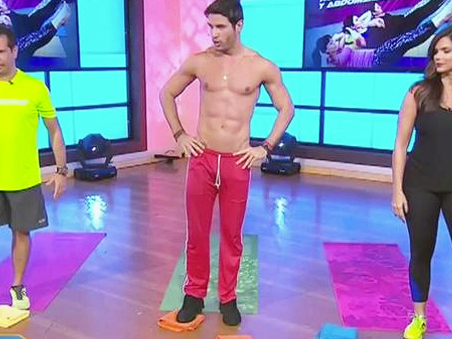 ejercicios abdomen y piernas