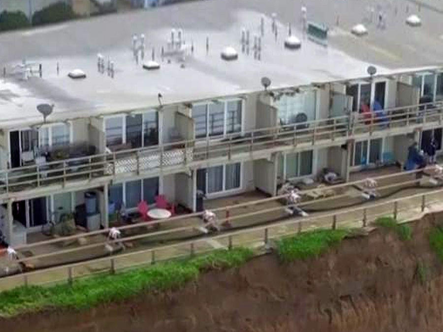 Edificios en California declarados inhabitables