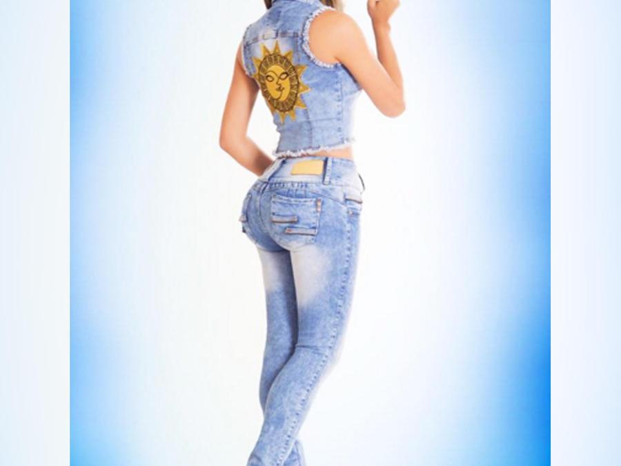 alicia machado jeans