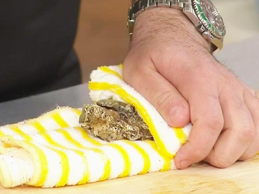abrir ostras