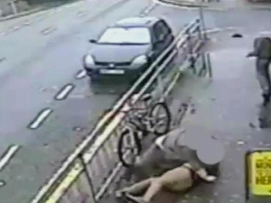 ladrones golpean taxista