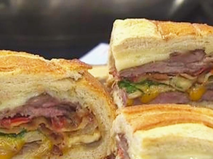sandwich de siete capas