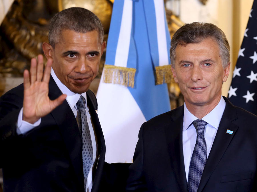 obama llega a argentina