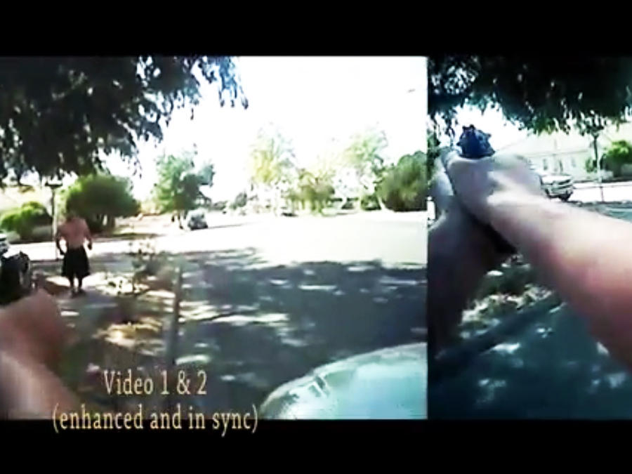 muerte de hombre a manos de policia