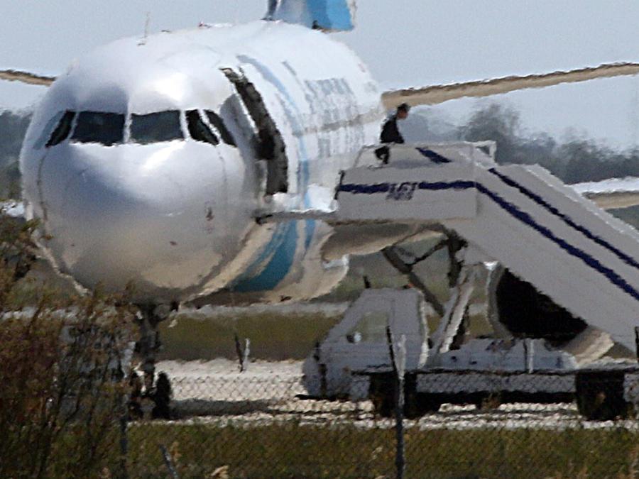 avion secuestrado