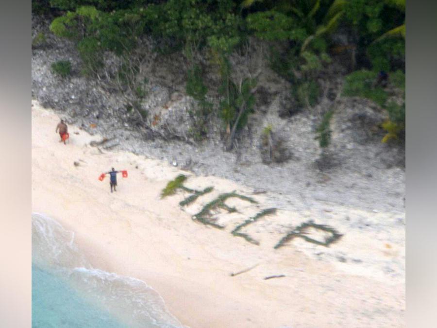 naufragos en islas