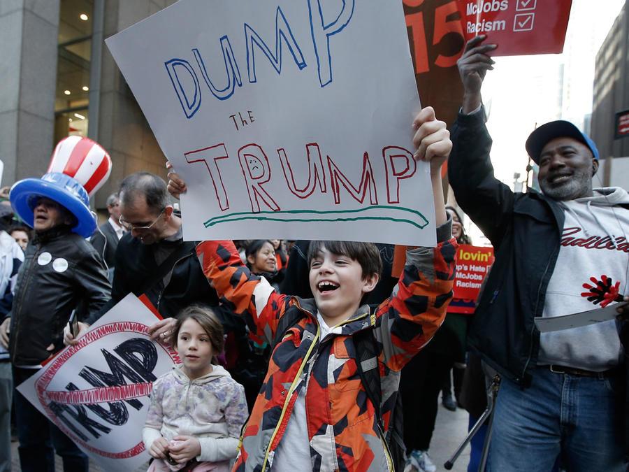 antitrump protestas