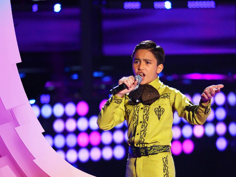 Francisco Garcia en audiciones a ciegas de La Voz Kids