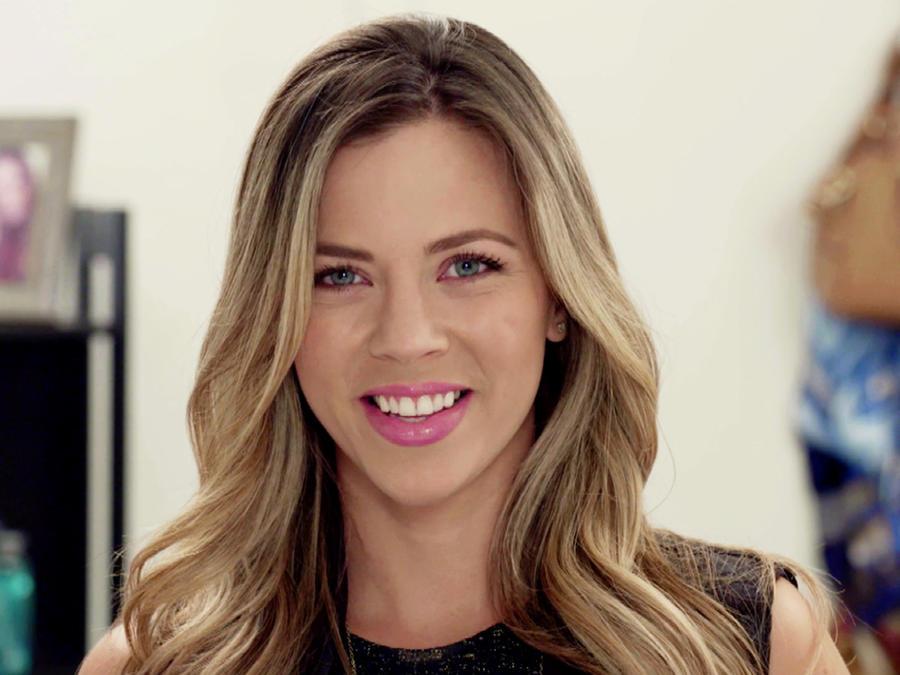 Ximena Duque sonriendo