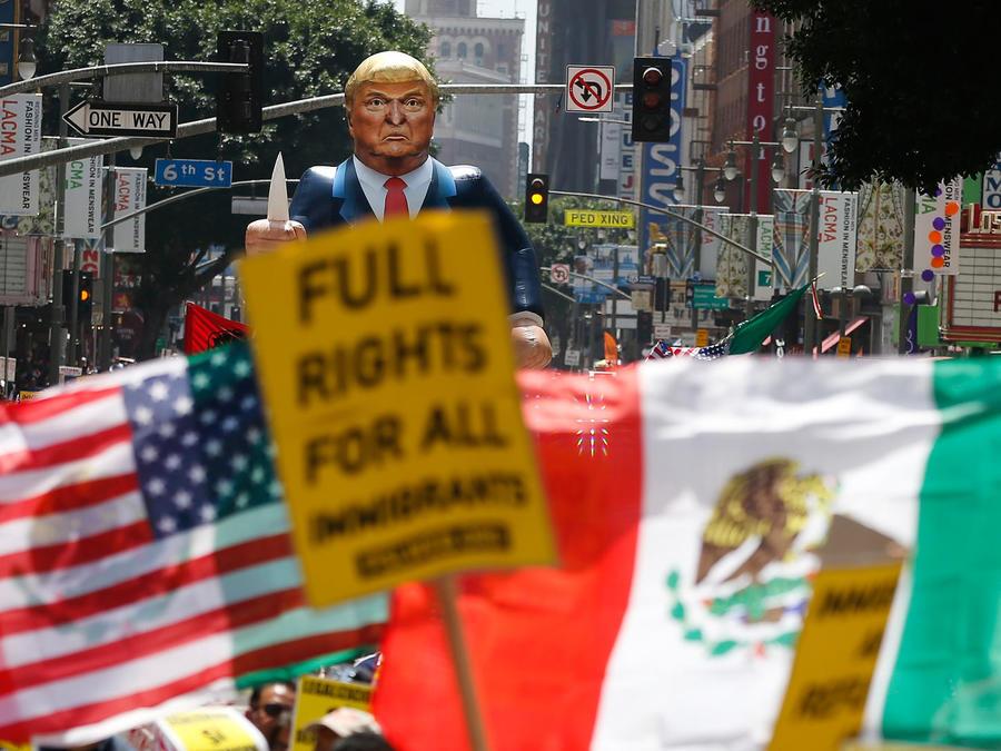 protestas dia del trabajo