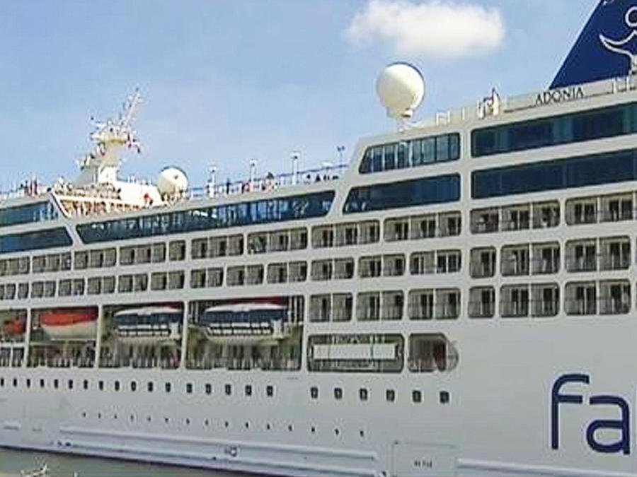 zarpa crucero comercial