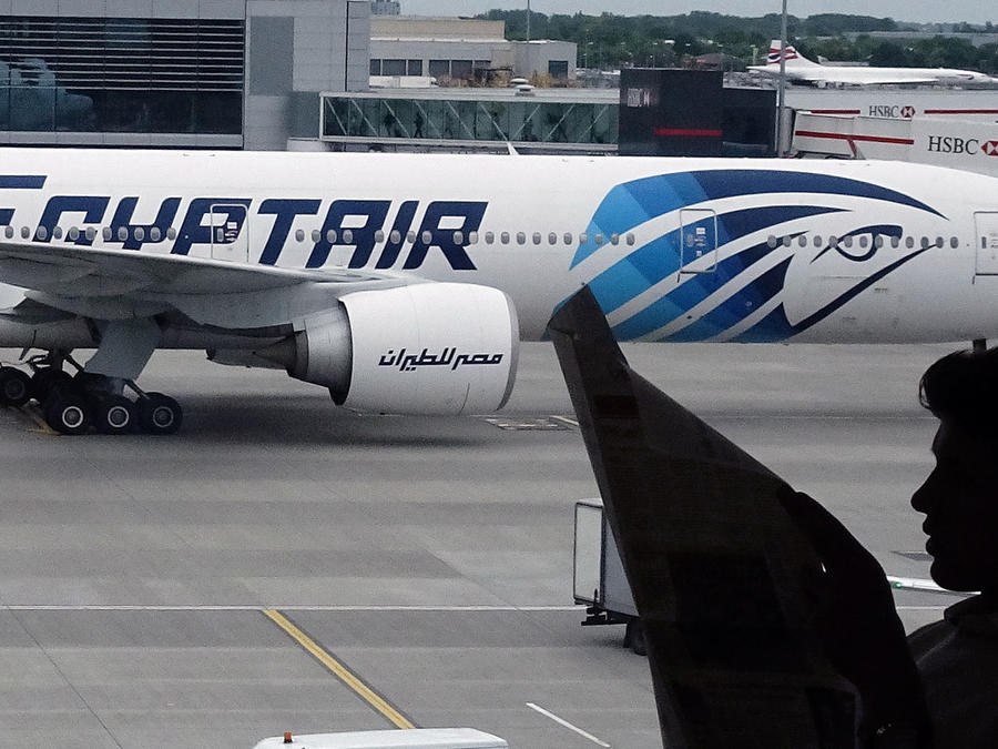 avion de egyptair